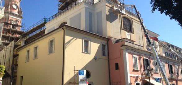 intervento ristrutturazione chiesa annunziata comune di salerno4