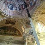 lavori di restauro interno chiesa